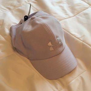 Purple Under Armour hat